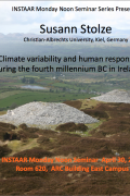 Noon seminar - Climate variability and human response during the fourth millennium BC in Ireland