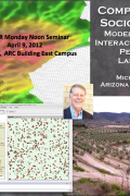 Noon seminar - Computational socioecology: Modeling dynamic interactions between people & landscapes