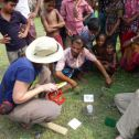 Talking with farmers in Bangladesh about monsoon flooding