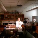 Making a short video about 10Be dating for the CU Graduate School. Photo credit: Hugo Cordova