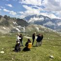 Flux chamber measurements in Grand Paradiso National Park (Italy)