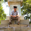 Am I a true marine science graduate without a grad cap and Hawaiian fish shirt photo? (Columbia, SC)