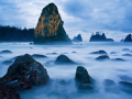 Sea stacks at Shi Shi Beach, Olympic National Park, Washington