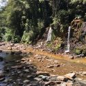Acid Mine Drainage into Blackball Creek (New Zealand)